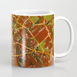 Minsk colorful map Coffee Mug