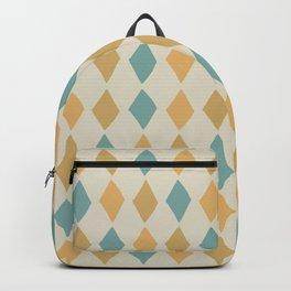 Mustard Harlequin Backpack
