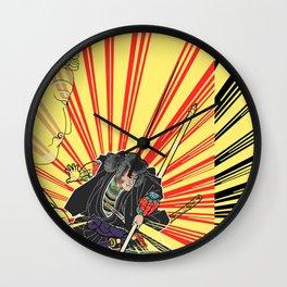 """Kabuki """"spark&buddha"""" Wall Clock"""