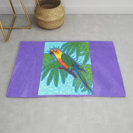 Ronnell's Parrot Rug