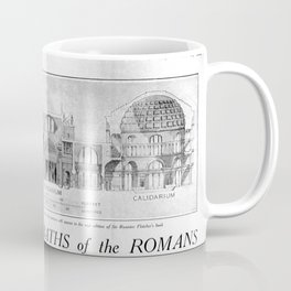 Fletcher's History of Architecture (1924) - The Marvellous Baths of the Romans Coffee Mug