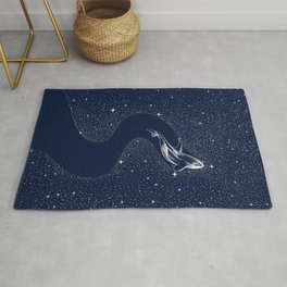 starry orca Rug