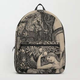 Eve And The Serpent Backpack