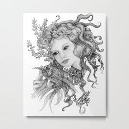 Sea Nymph Metal Print