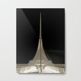 Milwaukee III Architecture by CALATRAVA | architect Metal Print
