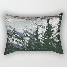 Glacier National Park Rectangular Pillow