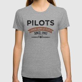 Pilot Proud Aviation Lover Gift Idea T-shirt