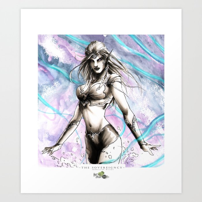 Maris Rising Art Print