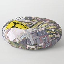 Lombard Street - San Francisco Floor Pillow