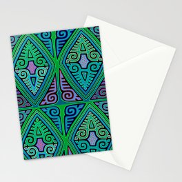 San Blas Indian Diamonds Stationery Cards