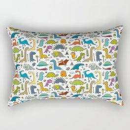 Funny dinos collection Rectangular Pillow
