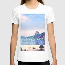 Rio de Janeiro - Pão de Açúcar - Art T-shirt
