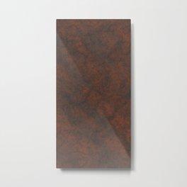 Rusty Rock Stone Wall Metal Print