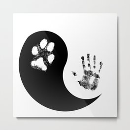 Paw Love Metal Print