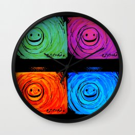Ennui - Smiles For All  Wall Clock