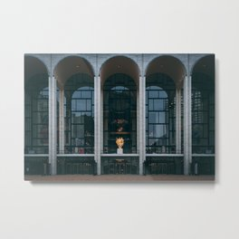 Lincoln Center Metal Print