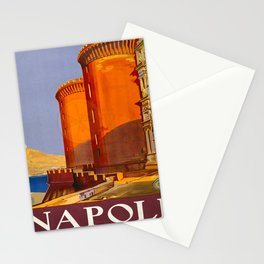 Napoli Travel Poster Stationery Cards