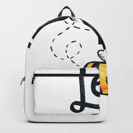 Let it Bee Save the Bees Bumblebee Backpack