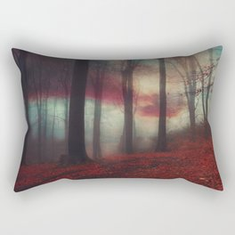 Fall Fantasy II - Moody Autumn Forest Rectangular Pillow