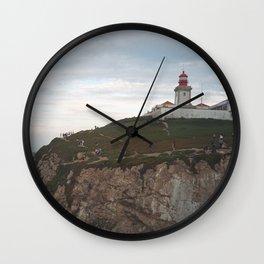 Cabo da Roca Lighthouse, Lisbon Wall Clock