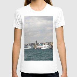 Istanbul Turkey Cruise liner Sea ship Berth Cities Ships Pier Marinas T-shirt