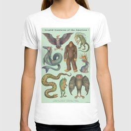 Cryptids of the Americas T-shirt