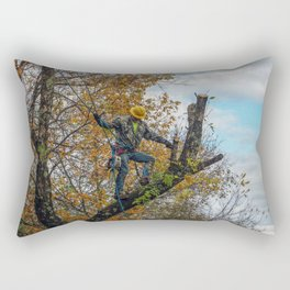 Tree Surgeon Rectangular Pillow
