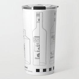 Negroni - Archaeological Drawing Travel Mug