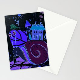 Gayle the Snail Stationery Cards