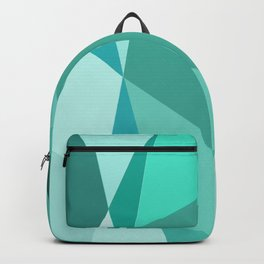 Minty Jagged Edges Backpack