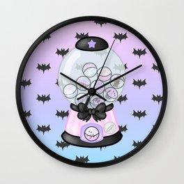 Pastel Goth Gachapon Wall Clock