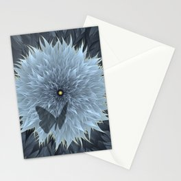 Blooming of life on the starry night. Stationery Cards