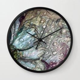 Flowing Flower Wall Clock