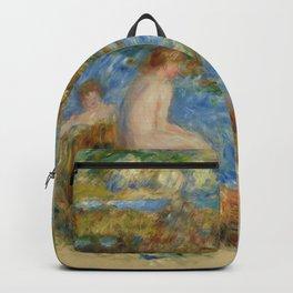 "Auguste Renoir ""Garçons nus dans les rochers à Guernsey"" Backpack"