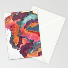 Carnival: a vibrant mixed media piece inspired by New Orleans Stationery Cards