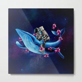 Space Wanderer Metal Print