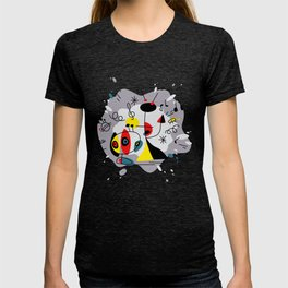 Music inspired by Joan Miro#illustration T-shirt