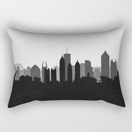 City Skylines: Atlanta (Alternative) Rectangular Pillow