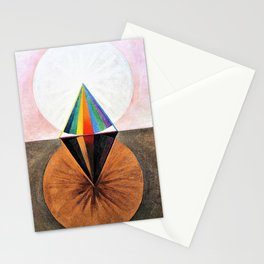 Hilma af Klint - The Swan, No.12, Group IX/SUW - Digital Remastered Edition Stationery Cards