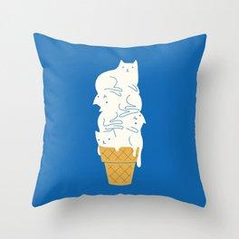 Cats Ice Cream Deko-Kissen