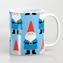 Gnome Repeat in Blue Coffee Mug