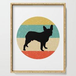 Boston Terrier Dog Gift design Serving Tray