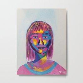 She is Us Metal Print