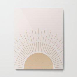 Sunrise - Modern Home Art Metal Print