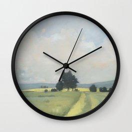 Across the Eastern Field Wall Clock
