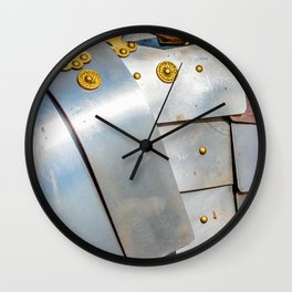 Details Of The Ancient Roman Military Plate Armor Wall Clock