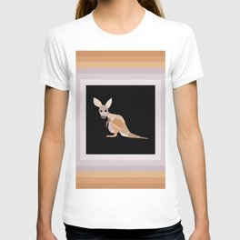 Paint Chip Kangaroo T-shirt