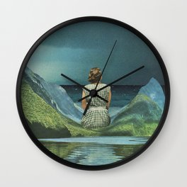 They say she's waiting on his return Wall Clock