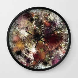 Escape from the elements Wall Clock