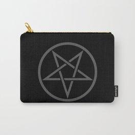 Satanic Pentagram (gray matter edit) Carry-All Pouch
